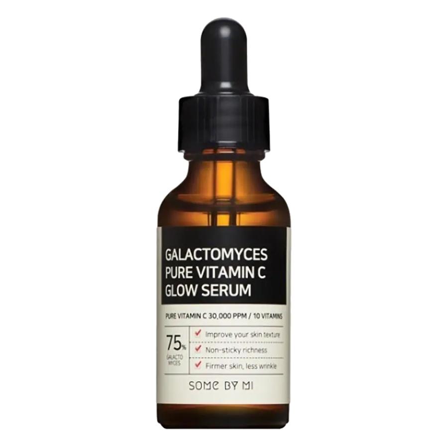 Tinh Chất Dưỡng Trắng Sáng Da, Chống Lão Hóa Some By Mi Galactomyces Pure Vitamin C Glow Serum 30ml