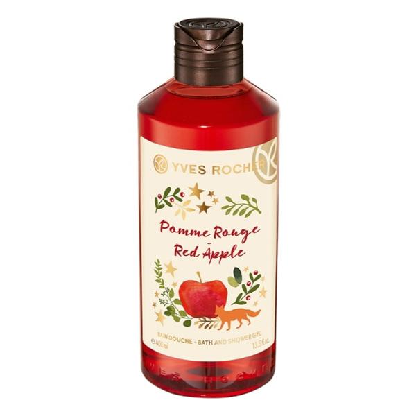 Gel Tắm Yves Rocher Pommer Rouge Red Apple Bath  Shower Gel 400ml