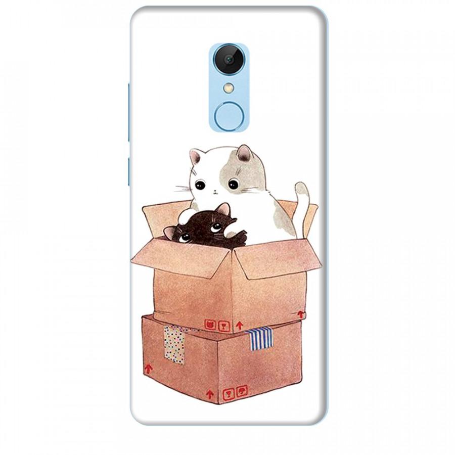 Ốp lưng dành cho điện thoại XIAOMI REDMI 5 Mèo Con Dễ Thương