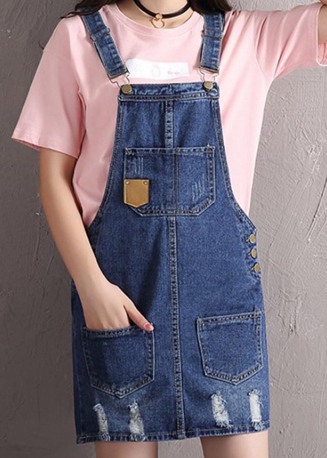 5917290491997 - Váy yếm jean ngắn VYN05 C136