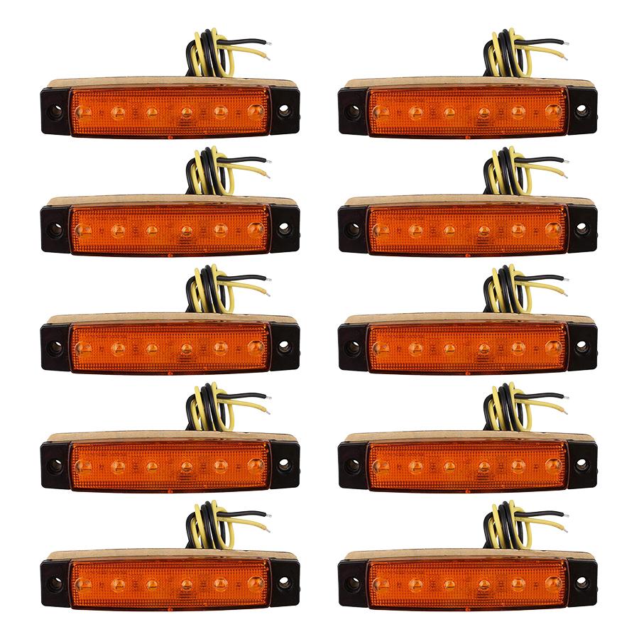 Đèn LED Vàng Dán (7 x 2 x 1cm) (24V)