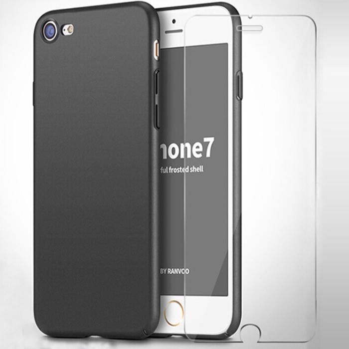 Bộ Ốp Lưng + Kính Cường Lực Cho iPhone7/8 Stryfer - Đen