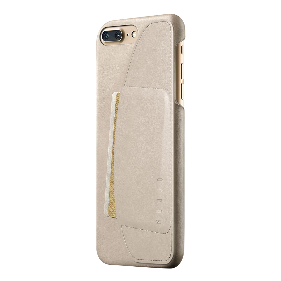 Ốp Lưng Bằng Da Kèm Ví Dành Cho iPhone 8 Plus/7 Plus Mujjo