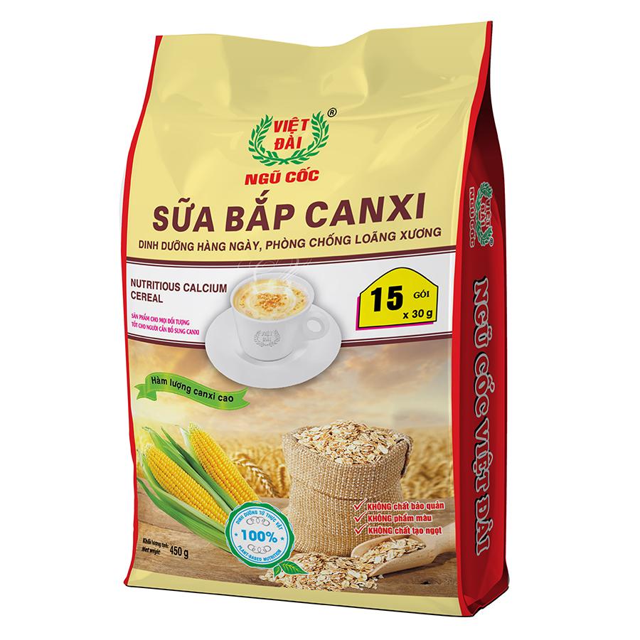 Sữa bắp canxi 450gram
