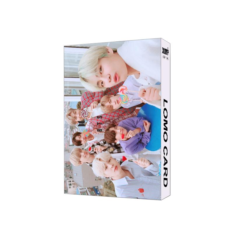 Lomo card BTS mới