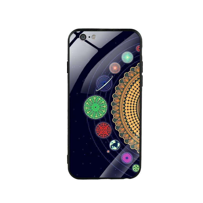 Ốp lưng kính cường lực cho điện thoại Iphone 6/6s - Galaxy