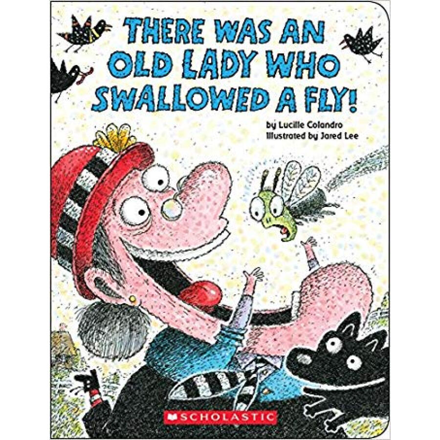 There Was an Old Lady Who Swallowed a Fly! Board