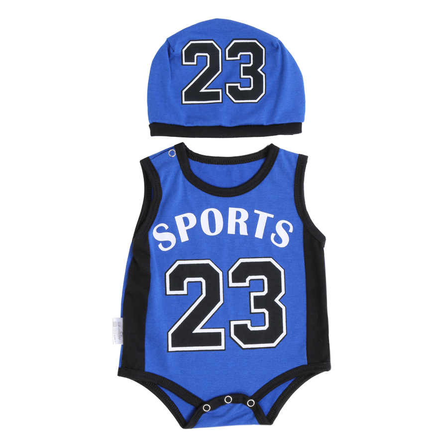Bodysuit Thể Thao Cho Bé Số 23 Mihababy BDS12_23