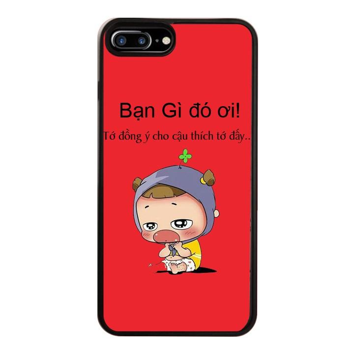 Ốp Lưng Kính Cường Lực Dành Cho Điện Thoại iPhone 7 Plus / 8 Plus Quỳnh AKA Mẫu 3