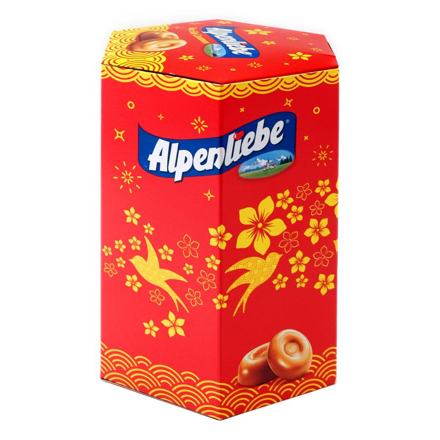 Kẹo Sữa Caramen Alpenliebe Hộp Tết (40 Viên)
