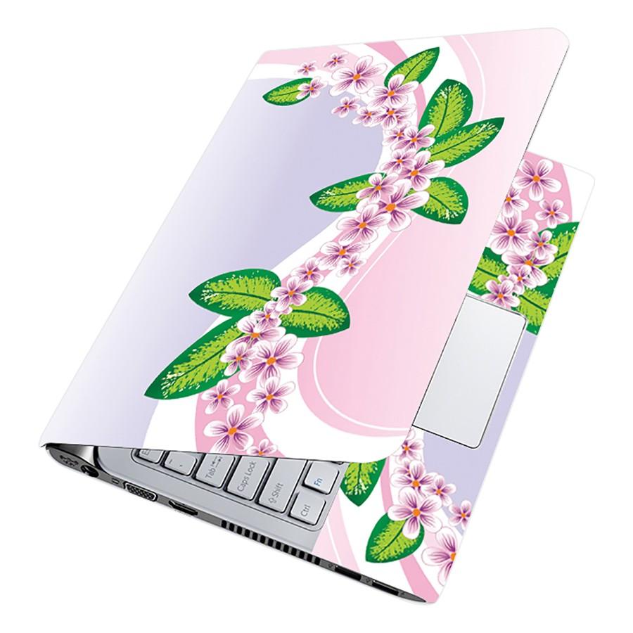 Miếng Dán Decal Dành Cho Laptop Mẫu Hoa Văn LTHV-196