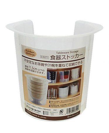 Hộp đựng bát đĩa cất gọn nội địa Nhật Bản - 933930 , 4469851555903 , 62_11551388 , 157000 , Hop-dung-bat-dia-cat-gon-noi-dia-Nhat-Ban-62_11551388 , tiki.vn , Hộp đựng bát đĩa cất gọn nội địa Nhật Bản