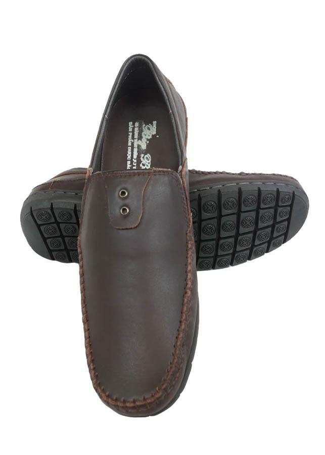 Giày Mọi Nam BIGGBEN Da Bò Thật Cao Cấp GM83