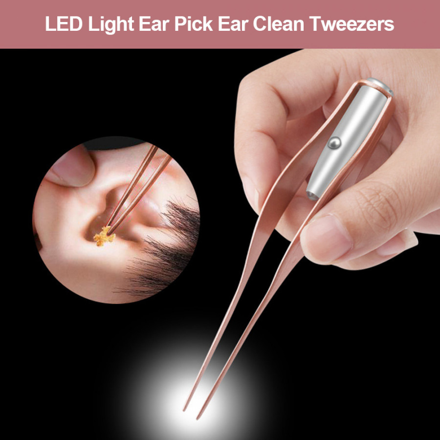 LED Light Ear Pick Ear Wax Removal Nose Clean Clip Baby Adults Ear Nose Clean Tweezers Remover Set - 7597603 , 3948292589803 , 62_17029901 , 244000 , LED-Light-Ear-Pick-Ear-Wax-Removal-Nose-Clean-Clip-Baby-Adults-Ear-Nose-Clean-Tweezers-Remover-Set-62_17029901 , tiki.vn , LED Light Ear Pick Ear Wax Removal Nose Clean Clip Baby Adults Ear Nose Clean