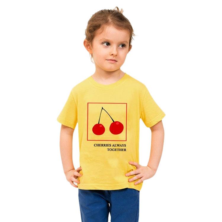 Áo Thun Bé - Áo Hạnh Phúc - Cherry