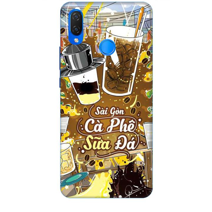 Ốp lưng dành cho điện thoại HUAWEI NOVA 3I Hình Sài Gòn Cafe Sữa Đá - Hàng chính hãng