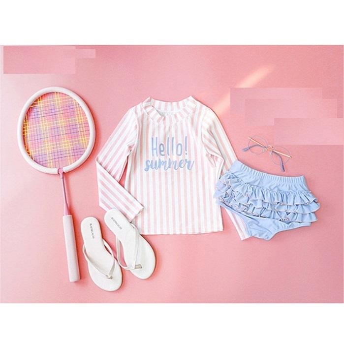 Set đồ bơi sọc tay dài cho bé gái AB50787-BGK - 2129761 , 2681972464014 , 62_13571865 , 295000 , Set-do-boi-soc-tay-dai-cho-be-gai-AB50787-BGK-62_13571865 , tiki.vn , Set đồ bơi sọc tay dài cho bé gái AB50787-BGK