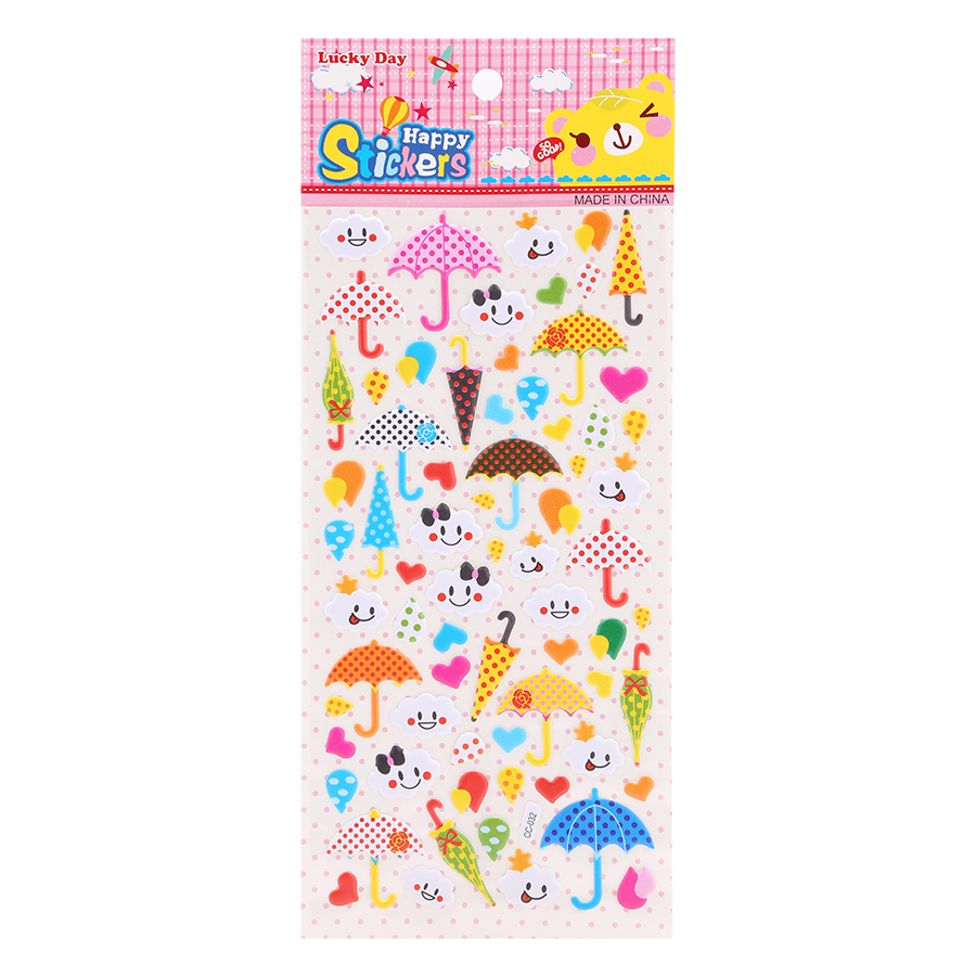 Sticker Dán Nổi Cho Bé - CC032