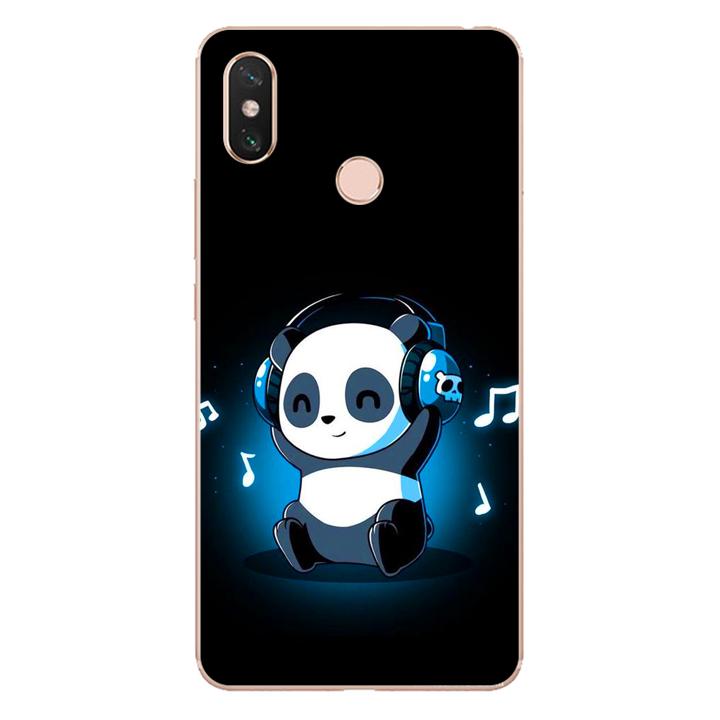 Ốp lưng dẻo cho điện thoại Xiaomi Mi Max 3_Panda 05