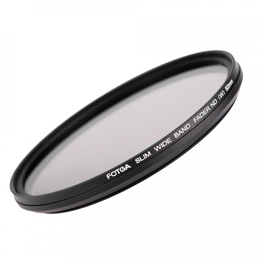 Bộ Lọc Fader ND Có Thể Điều Chỉnh ND2 thành ND400 Fotga Đen (82mm)