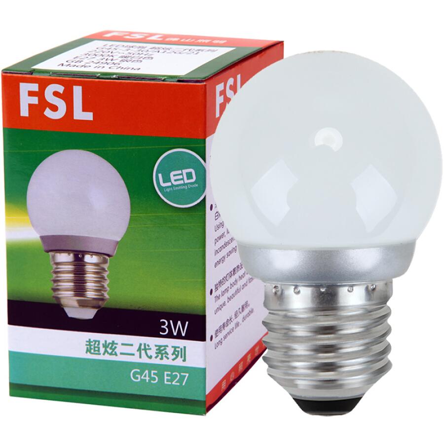 Foshan lighting (FSL) LED bulb big mouth 3W warm white 3000K E27 energy saving bulb Hyun silver 2 loaded - 1584333 , 9412677304366 , 62_10467604 , 78000 , Foshan-lighting-FSL-LED-bulb-big-mouth-3W-warm-white-3000K-E27-energy-saving-bulb-Hyun-silver-2-loaded-62_10467604 , tiki.vn , Foshan lighting (FSL) LED bulb big mouth 3W warm white 3000K E27 energy sav