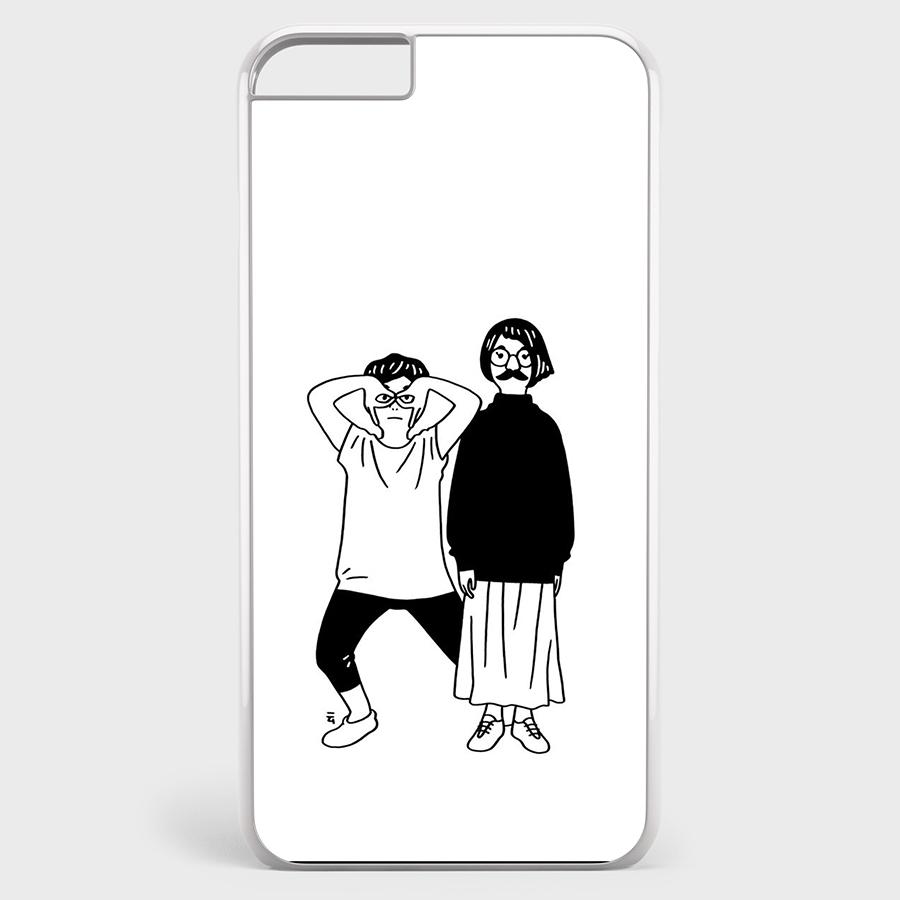 Ốp Lưng Dẻo Dành Cho Iphone 6/6S In Hình Art Print 89