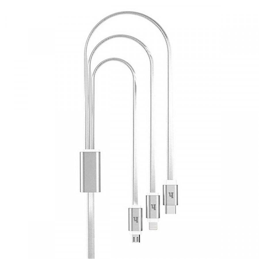 Các Sạc Hoco UPL12 Đa Năng 3 Đầu  Lightning+ Micro+ Type-C - Hàng Chính Hãng