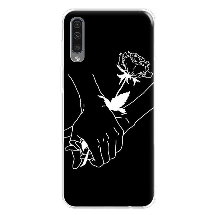 Ốp lưng dẻo cho điện thoại Samsung Galaxy A50 - 224 0081 HANDBYHAND