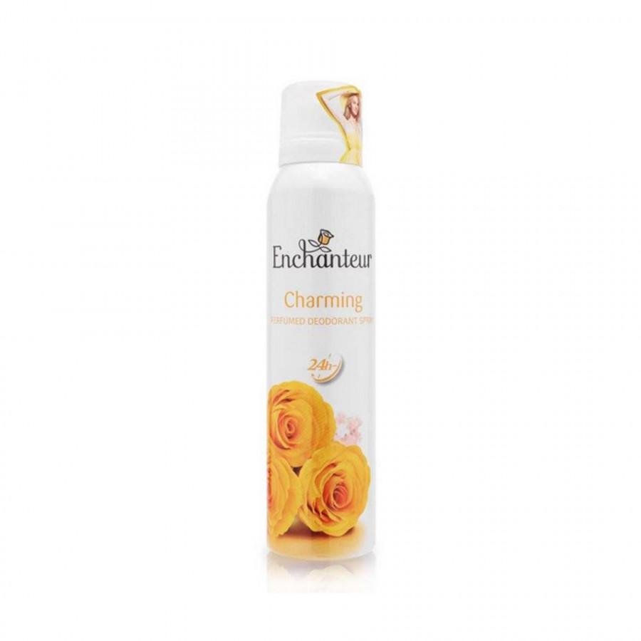 Xịt khử mùi nước hoa Enchanteur Charming nồng nàn duyên dáng ngăn mồ hôi  mùi cơ thể 150ml - 18481081 , 3643062258704 , 62_15944205 , 92000 , Xit-khu-mui-nuoc-hoa-Enchanteur-Charming-nong-nan-duyen-dang-ngan-mo-hoi-mui-co-the-150ml-62_15944205 , tiki.vn , Xịt khử mùi nước hoa Enchanteur Charming nồng nàn duyên dáng ngăn mồ hôi  mùi cơ thể 15