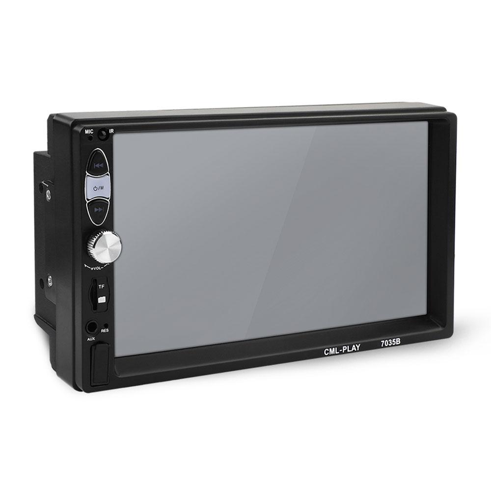 Màn Hình LCD Cảm Ứng MP5 FM/USB/AUX/LCD Hỗ Trợ Thẻ TF Cho Xe Hơi
