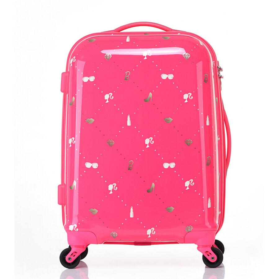 Barbie trolley case female universal wheel student 24 inch children suitcase pink cartoon cute suitcase BM16109 - 1909007 , 3403546897498 , 62_10258079 , 2976000 , Barbie-trolley-case-female-universal-wheel-student-24-inch-children-suitcase-pink-cartoon-cute-suitcase-BM16109-62_10258079 , tiki.vn , Barbie trolley case female universal wheel student 24 inch child