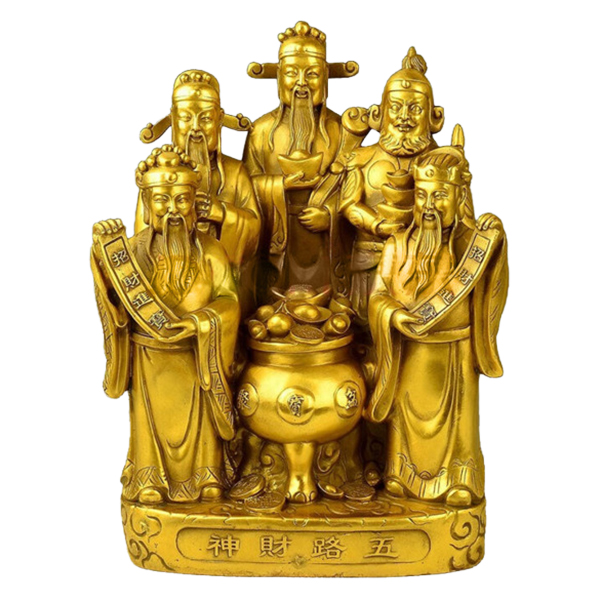 Tượng Ngũ Phúc Ngũ Hộ Thần Tài Bằng Đồng Thau Cỡ Trung Tâm Thành Phát - 1403724 , 2503556001920 , 62_7226549 , 919000 , Tuong-Ngu-Phuc-Ngu-Ho-Than-Tai-Bang-Dong-Thau-Co-Trung-Tam-Thanh-Phat-62_7226549 , tiki.vn , Tượng Ngũ Phúc Ngũ Hộ Thần Tài Bằng Đồng Thau Cỡ Trung Tâm Thành Phát