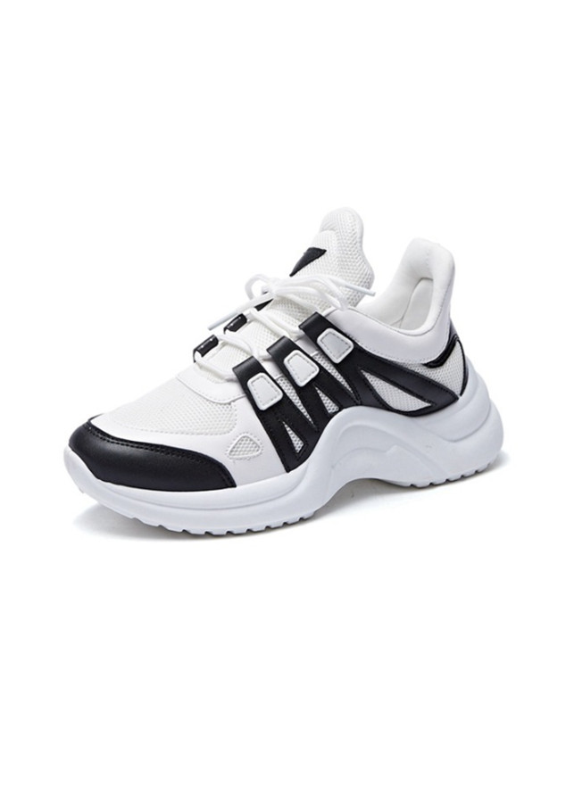 Sneaker Giày Nữ Độn Đế Màu Trắng Đen Xám Nguyên Khối Ấn Tượng Năng Động - 2335505 , 6162862506237 , 62_15169366 , 378000 , Sneaker-Giay-Nu-Don-De-Mau-Trang-Den-Xam-Nguyen-Khoi-An-Tuong-Nang-Dong-62_15169366 , tiki.vn , Sneaker Giày Nữ Độn Đế Màu Trắng Đen Xám Nguyên Khối Ấn Tượng Năng Động