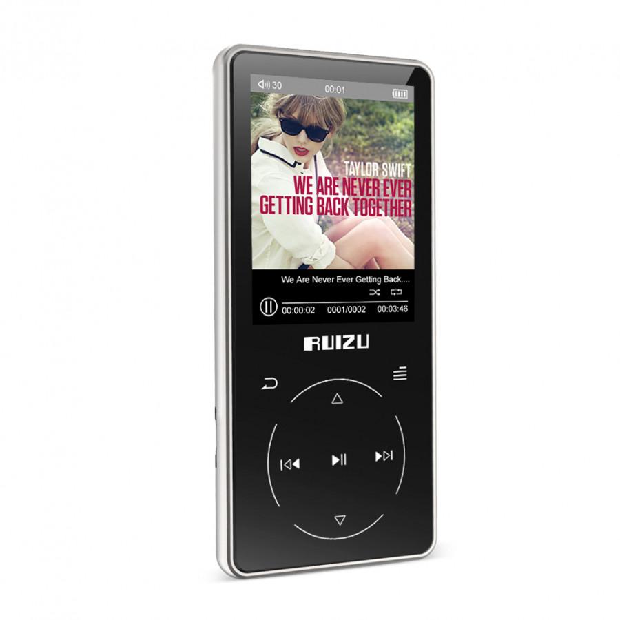 Ruizu D16 - Máy nghe nhạc Lossless, màn hính lớn 2.4 icnh, Bluetooth 4.1 - Hàng Chính Hãng - 2010719 , 8555323108176 , 62_12874050 , 999000 , Ruizu-D16-May-nghe-nhac-Lossless-man-hinh-lon-2.4-icnh-Bluetooth-4.1-Hang-Chinh-Hang-62_12874050 , tiki.vn , Ruizu D16 - Máy nghe nhạc Lossless, màn hính lớn 2.4 icnh, Bluetooth 4.1 - Hàng Chính Hãng