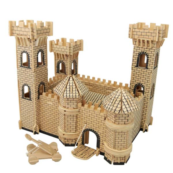 Mô hình lắp ghép 3D bằng gỗ Lâu đài Prince Castle