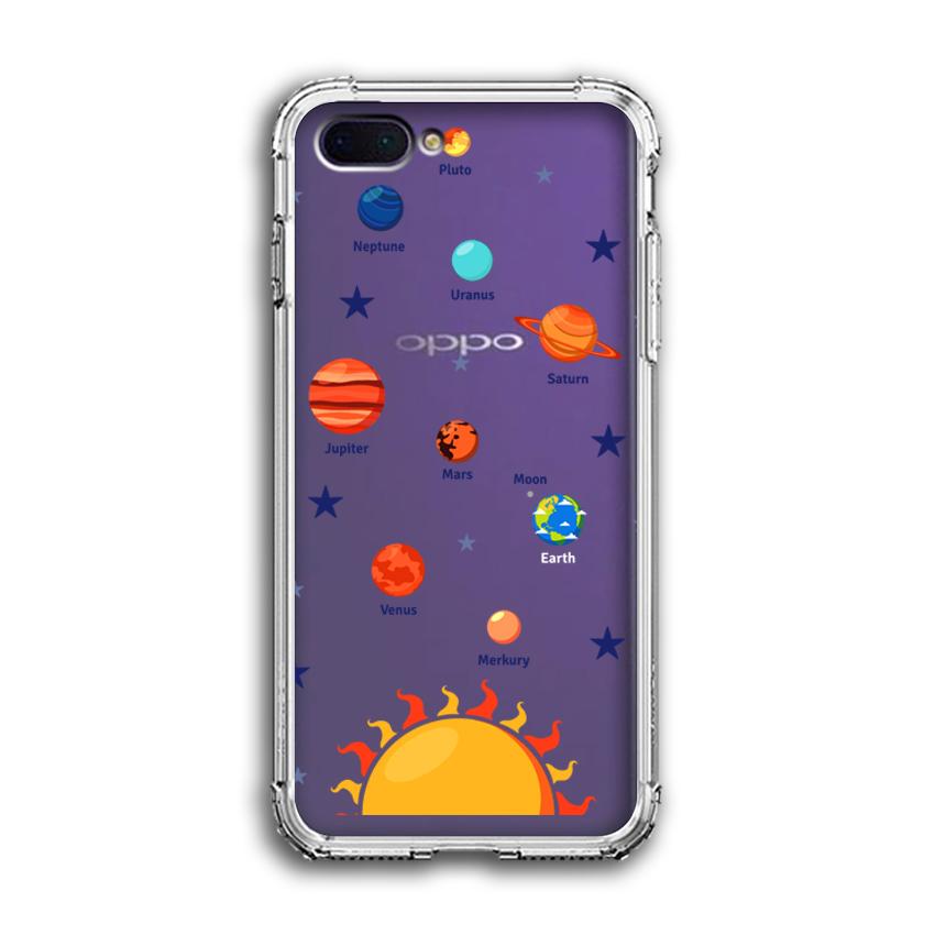 Ốp Lưng Dẻo Chống Sốc cho điện thoại Oppo A3s - 04031 0550 SOLARSYSTEM05 - Hàng Chính Hãng