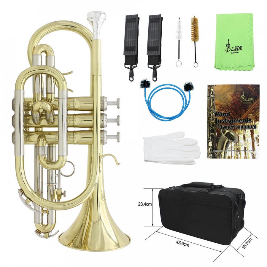 Bộ Dụng Cụ Vệ Sinh Kèn Trumpet Bb Flat Lade