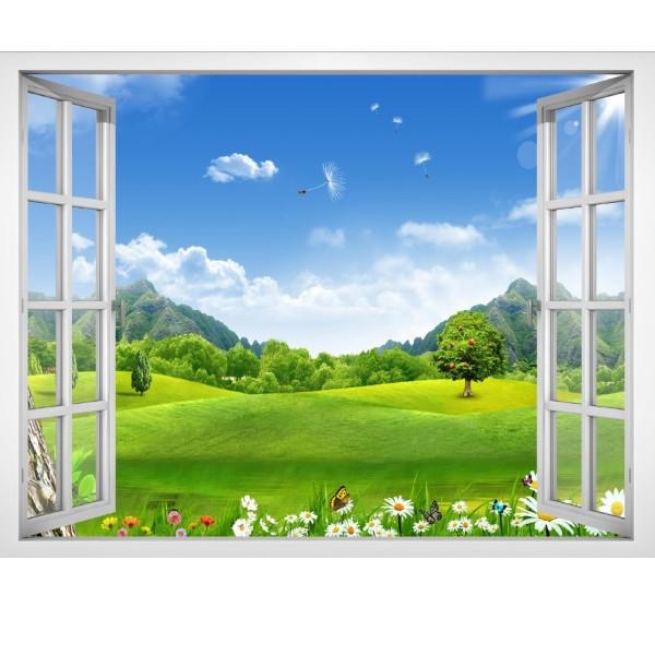 Tranh dán tường cửa sổ cảnh đẹp thiên nhiên VT0406 - 845929 , 2037789560119 , 62_13596516 , 115000 , Tranh-dan-tuong-cua-so-canh-dep-thien-nhien-VT0406-62_13596516 , tiki.vn , Tranh dán tường cửa sổ cảnh đẹp thiên nhiên VT0406