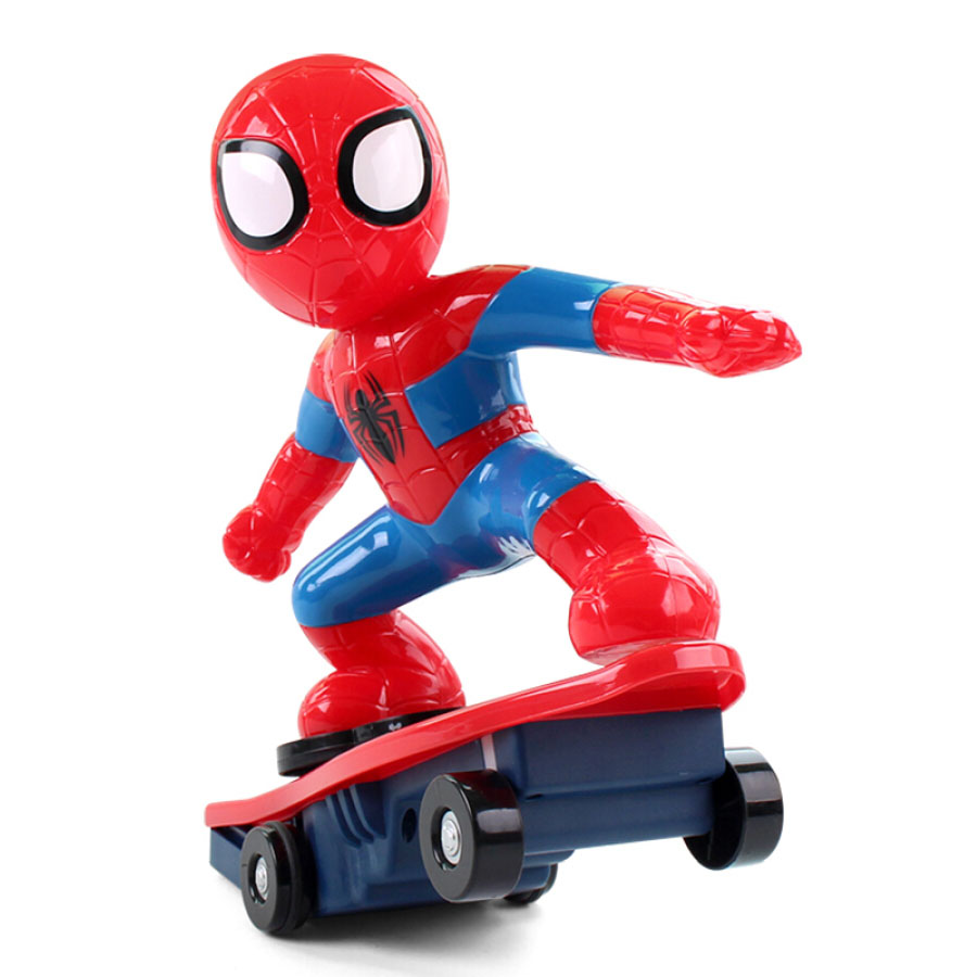 New Qida Spiderman scooter rechargeable remote control car boy children toy gift M021 - 1586020 , 8206008774789 , 62_10496225 , 851000 , New-Qida-Spiderman-scooter-rechargeable-remote-control-car-boy-children-toy-gift-M021-62_10496225 , tiki.vn , New Qida Spiderman scooter rechargeable remote control car boy children toy gift M021