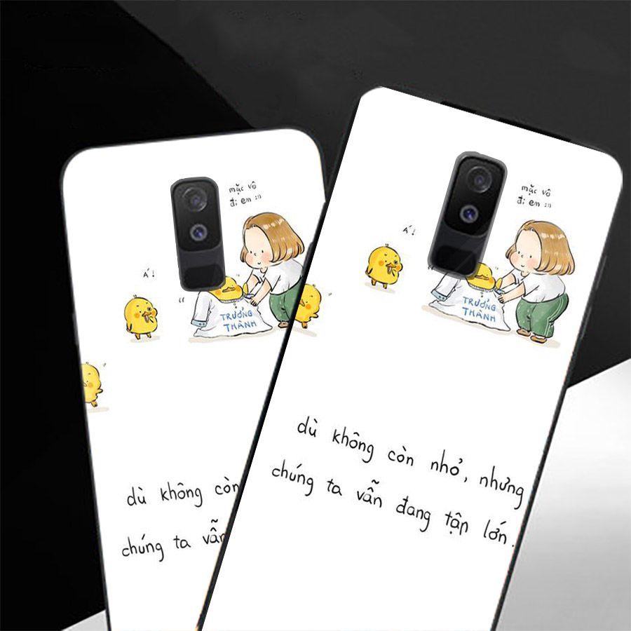 Ốp kính cường lực dành cho điện thoại Samsung Galaxy A8 2018/A5 2018 - J2 Core - A6 Plus - lời trích tâm sự tâm... - 1966434 , 6194584661550 , 62_14823237 , 207000 , Op-kinh-cuong-luc-danh-cho-dien-thoai-Samsung-Galaxy-A8-2018-A5-2018-J2-Core-A6-Plus-loi-trich-tam-su-tam...-62_14823237 , tiki.vn , Ốp kính cường lực dành cho điện thoại Samsung Galaxy A8 2018/A5 2018 - J2