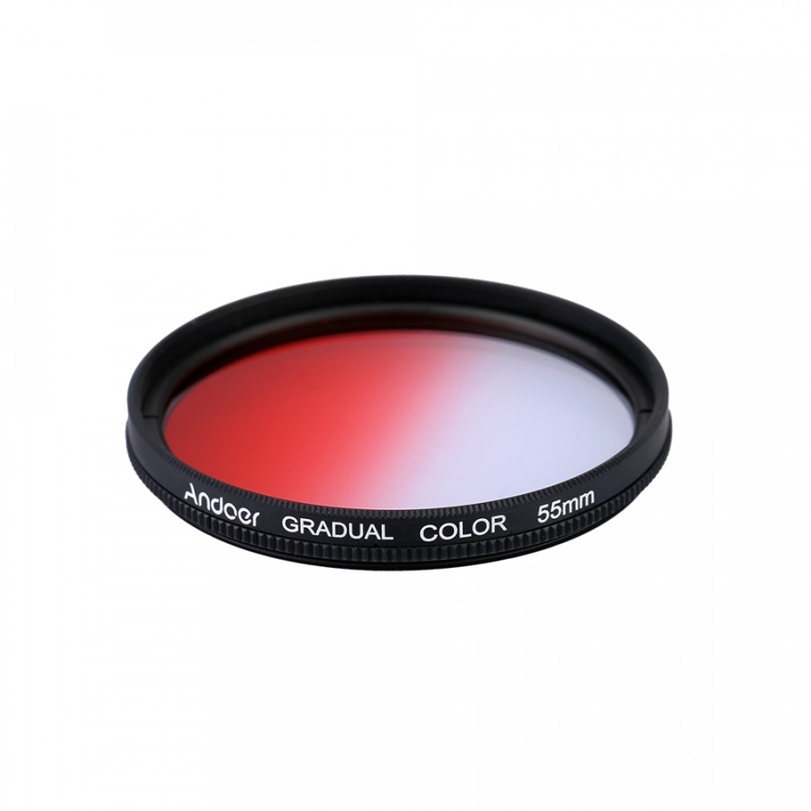 Andoer Professional 55mm GND Graduated Filter Set GND4(0.6) Gray Blue Orange Red Graduated Neutral Density Filter for - 806271 , 7259028108851 , 62_14420431 , 373000 , Andoer-Professional-55mm-GND-Graduated-Filter-Set-GND40.6-Gray-Blue-Orange-Red-Graduated-Neutral-Density-Filter-for-62_14420431 , tiki.vn , Andoer Professional 55mm GND Graduated Filter Set GND4(0.6) Gr
