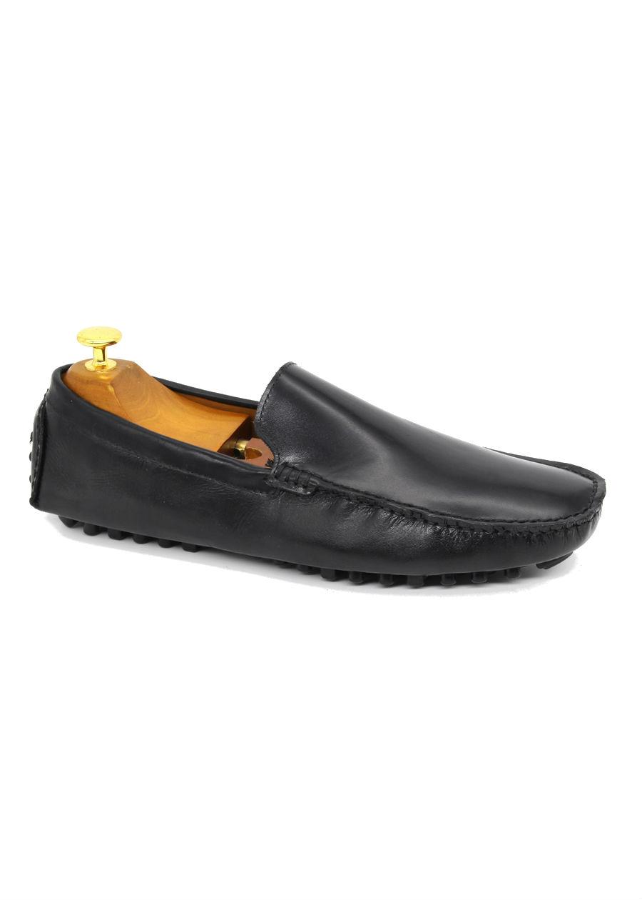 Giày Lười Nam Antoni Fernando AF-001-2 - Đen