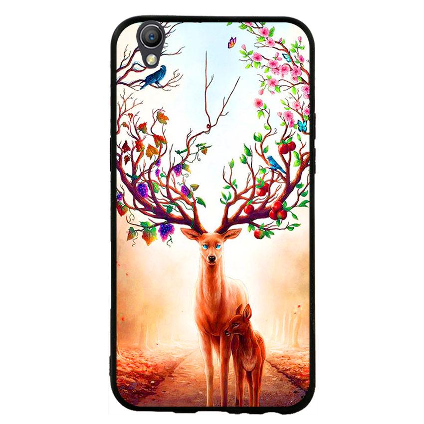 Ốp Lưng Viền TPU cho điện thoại Oppo Neo 9 -Deer 01