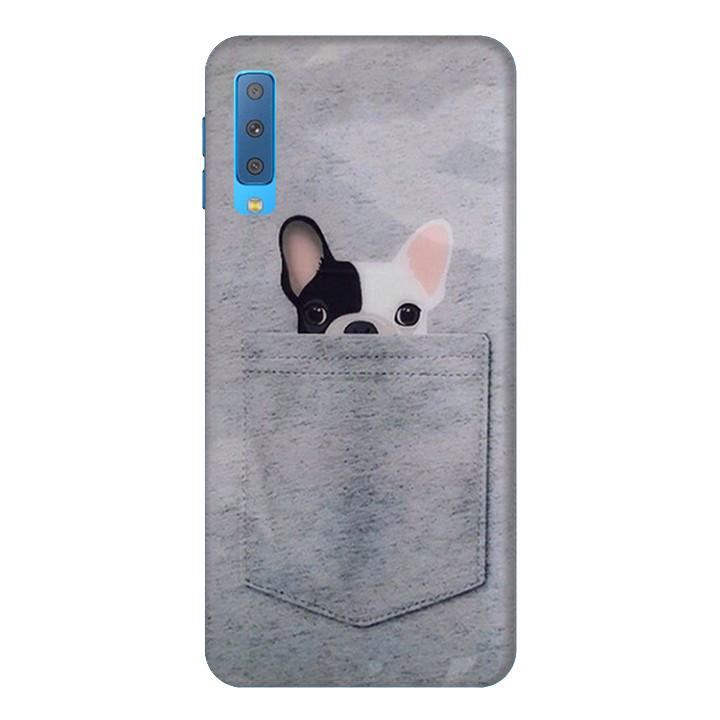 Ốp Lưng Dành Cho Điện Thoại Samsung Galaxy A7 2018 Cúm Cưng Mẫu 1