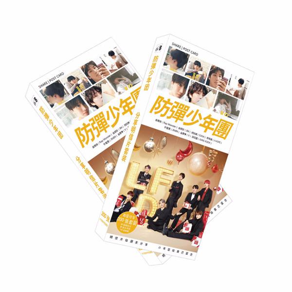 Postcard bts mẫu F số 1