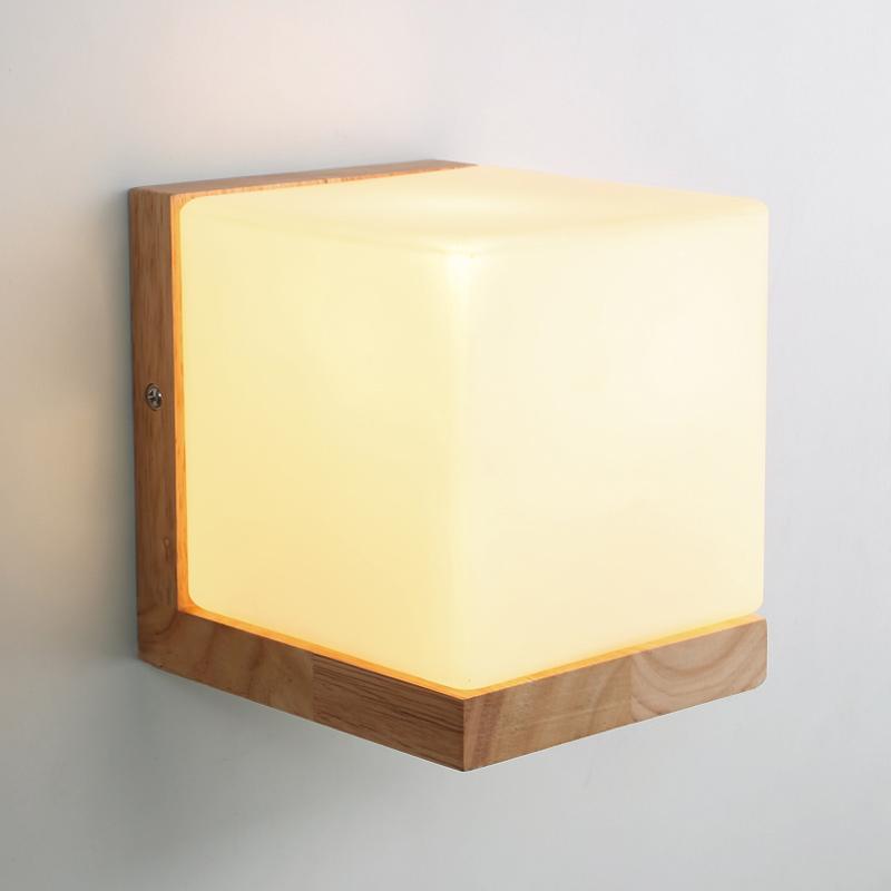 Đèn Vách Hình Khối Vuông - DV00014   Kèm bóng