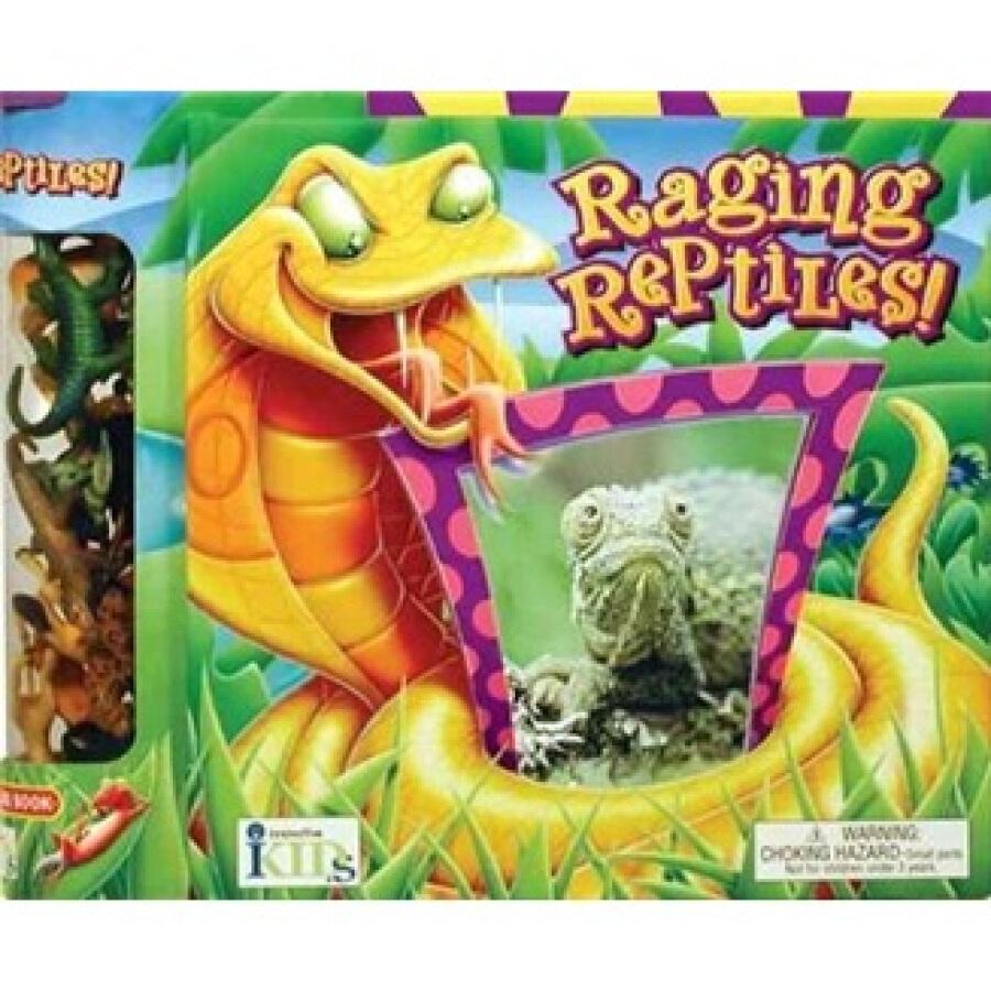 Raging Reptiles! - 1239221 , 8122902204422 , 62_5277485 , 412000 , Raging-Reptiles-62_5277485 , tiki.vn , Raging Reptiles!
