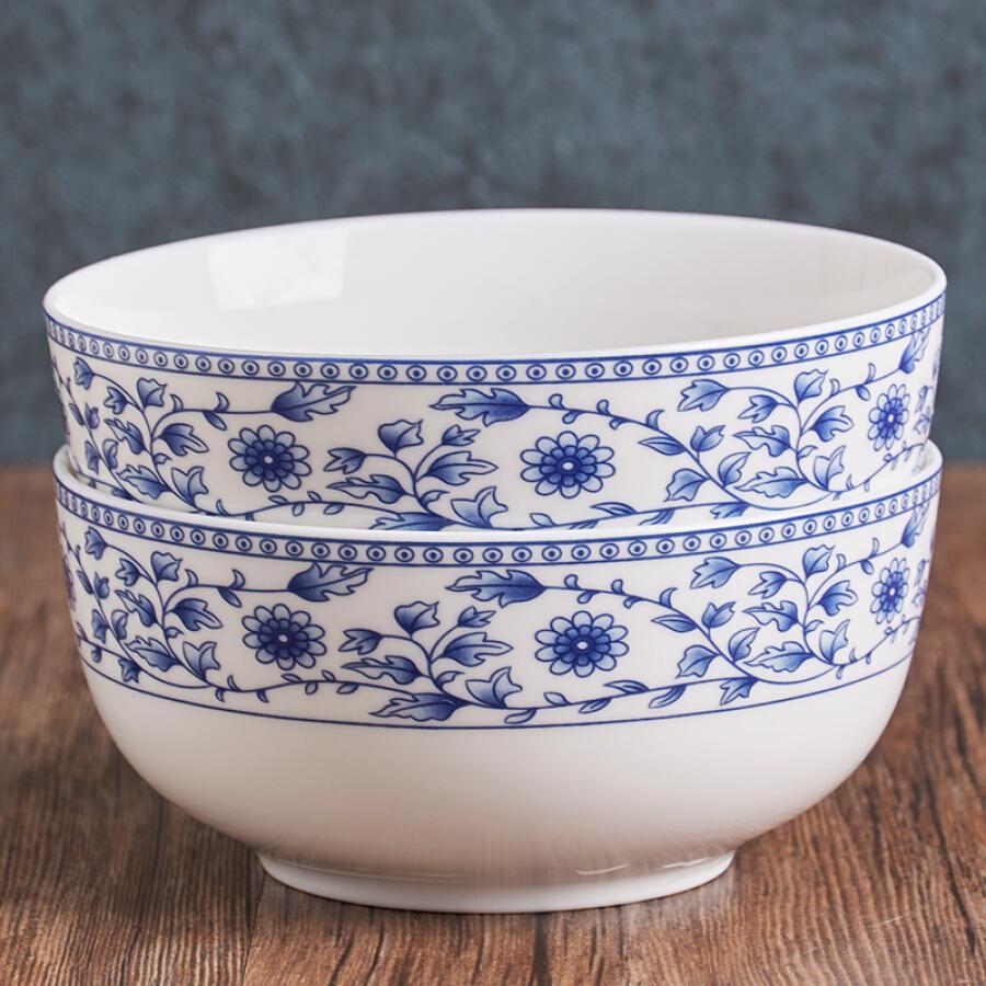 Bộ Đồ Ăn Bằng Gốm Trung Quốc Jie Yajie