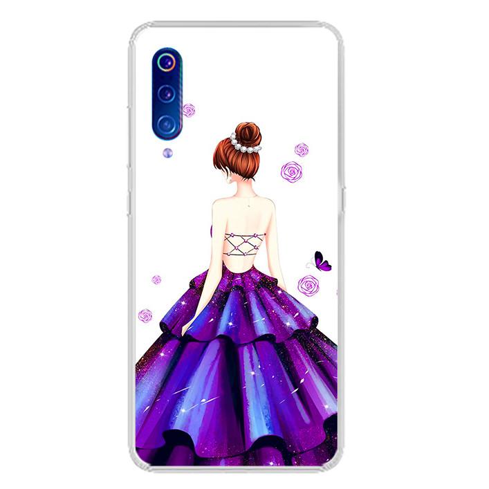 Ốp lưng dẻo cho điện thoại Xiaomi Mi 9 - 0100 GIRL06 - Hàng Chính Hãng