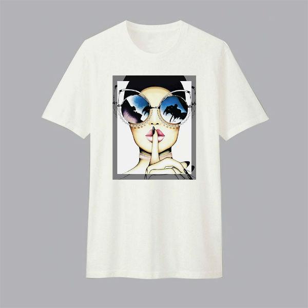 Áo T-shirt Trẻ Em The Weeknd Dotilo HU005 - Trắng